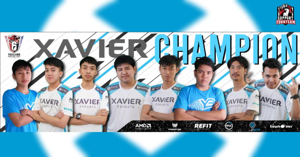 สังกัด Xavier Esports ทีม Rainbow Six Siege โชว์เข้ม ถล่ม Qconfirm จบราบ พร้อมคว้าแชมป์ในรายการ Rainbow Six Operation Thailand Leage Season 3 มาได้
