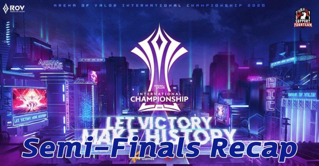 RoV AIC 2020 | Semi-Finals Recap