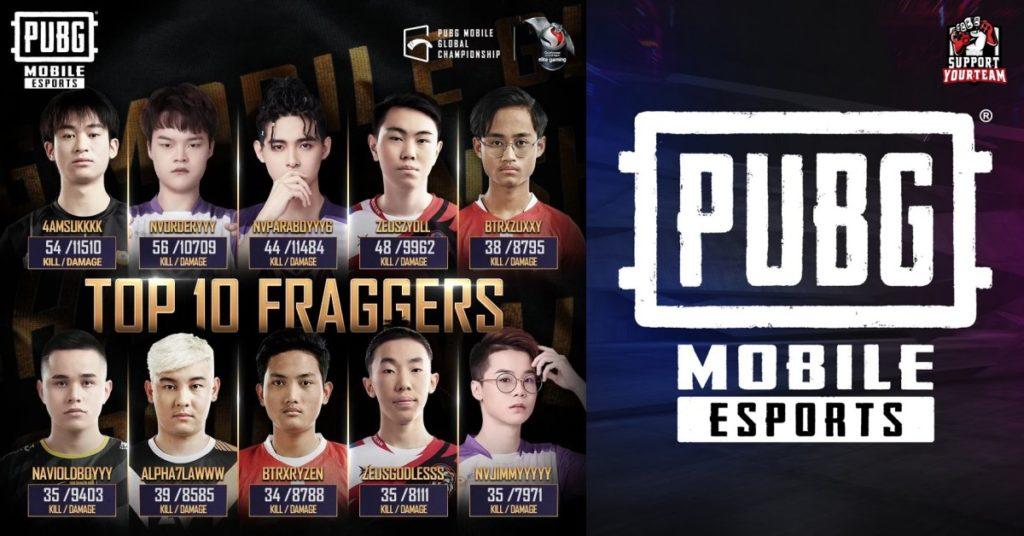 10 อันดับ นักยิงแห่ง PUBG Mobile 2020 Finals