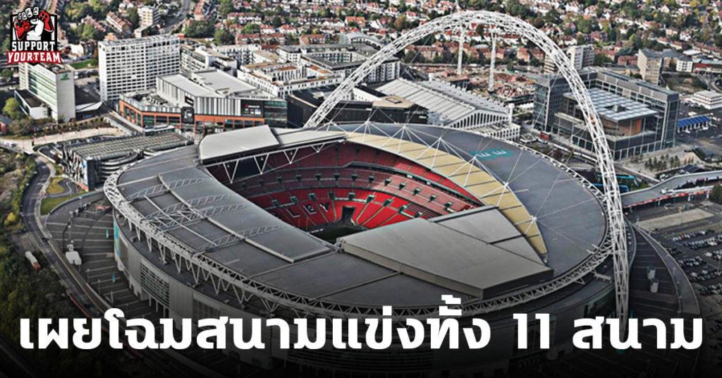 รายชื่อสนามแข่งยูโร2020 ทั้ง 11 สนาม