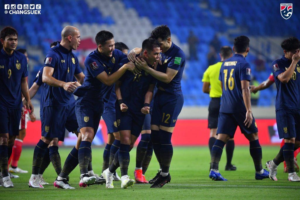ดีใจไม่สุด! ทีมชาติไทย เกมรุกดีแต่ทำได้แค่ เสมอ อินโดนีเซีย 2-2