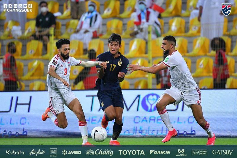 ดับฝันช้างศึก! ทีมชาติไทย บุกพ่าย ยูเออี 1-3 หมดลุ้นคัดบอลโลก